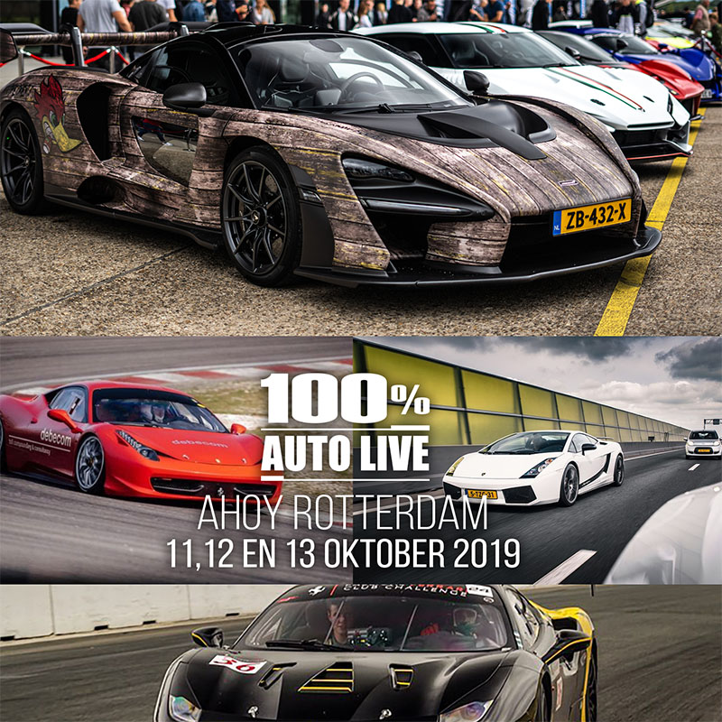 Supercar Society op 100% Auto Live in Rotterdam Ahoy