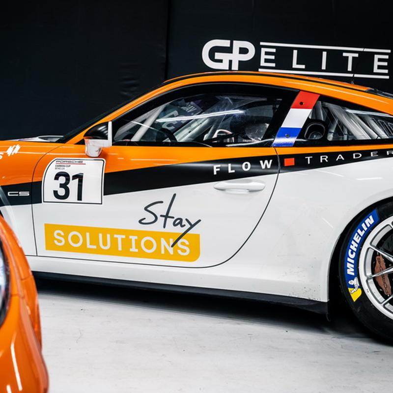 Porsche-team van Max van Splunteren op 100% Auto Live