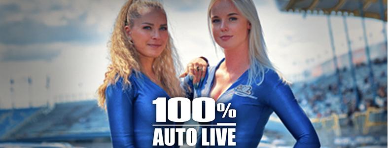 Gridgirl Contest tijdens 100% Auto Live