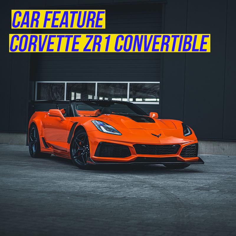 Corvette ZR1 Convertible: letterlijk uniek in zijn soort