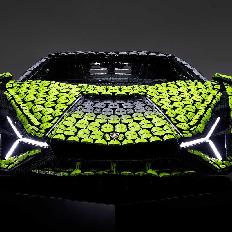 Lamborghini Sian van Lego