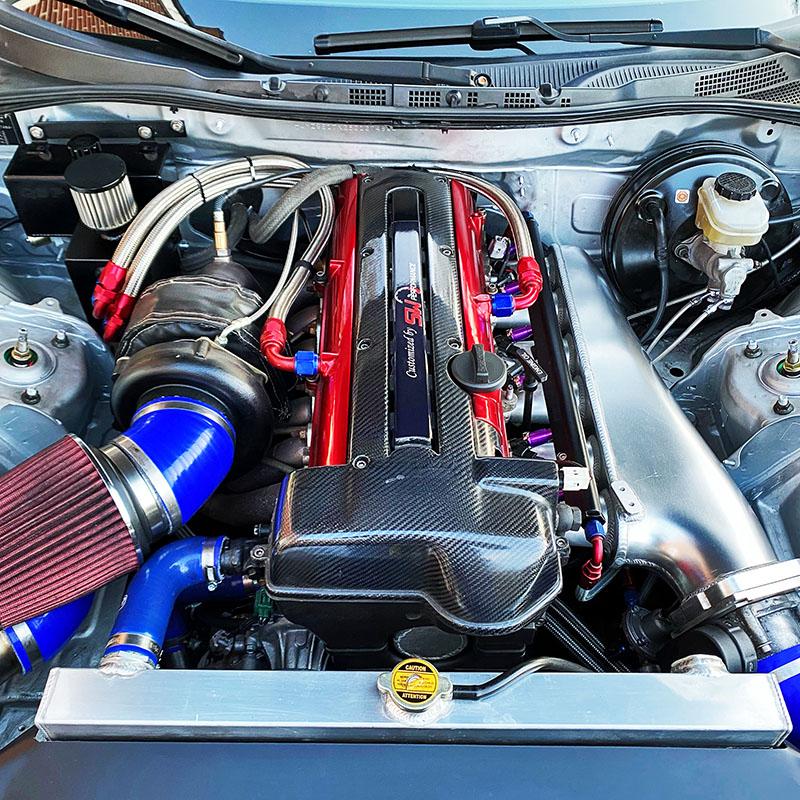 Mazda RX8 met 2JZ motor