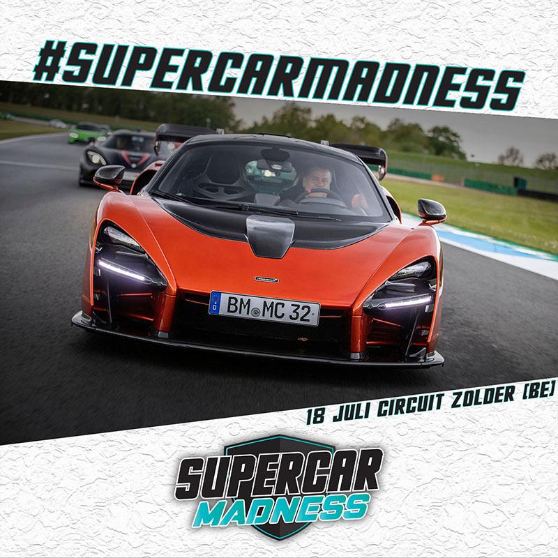 Mclaren Senna aanwezig op Supercar Madness
