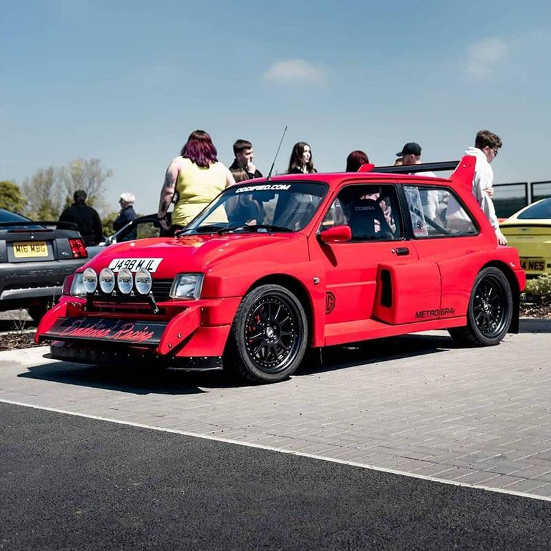 6R4 Replica met V6 Turbo