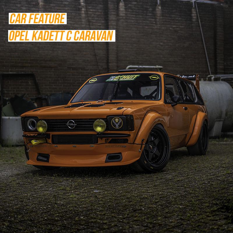 500PK Opel Kadett C Caravan