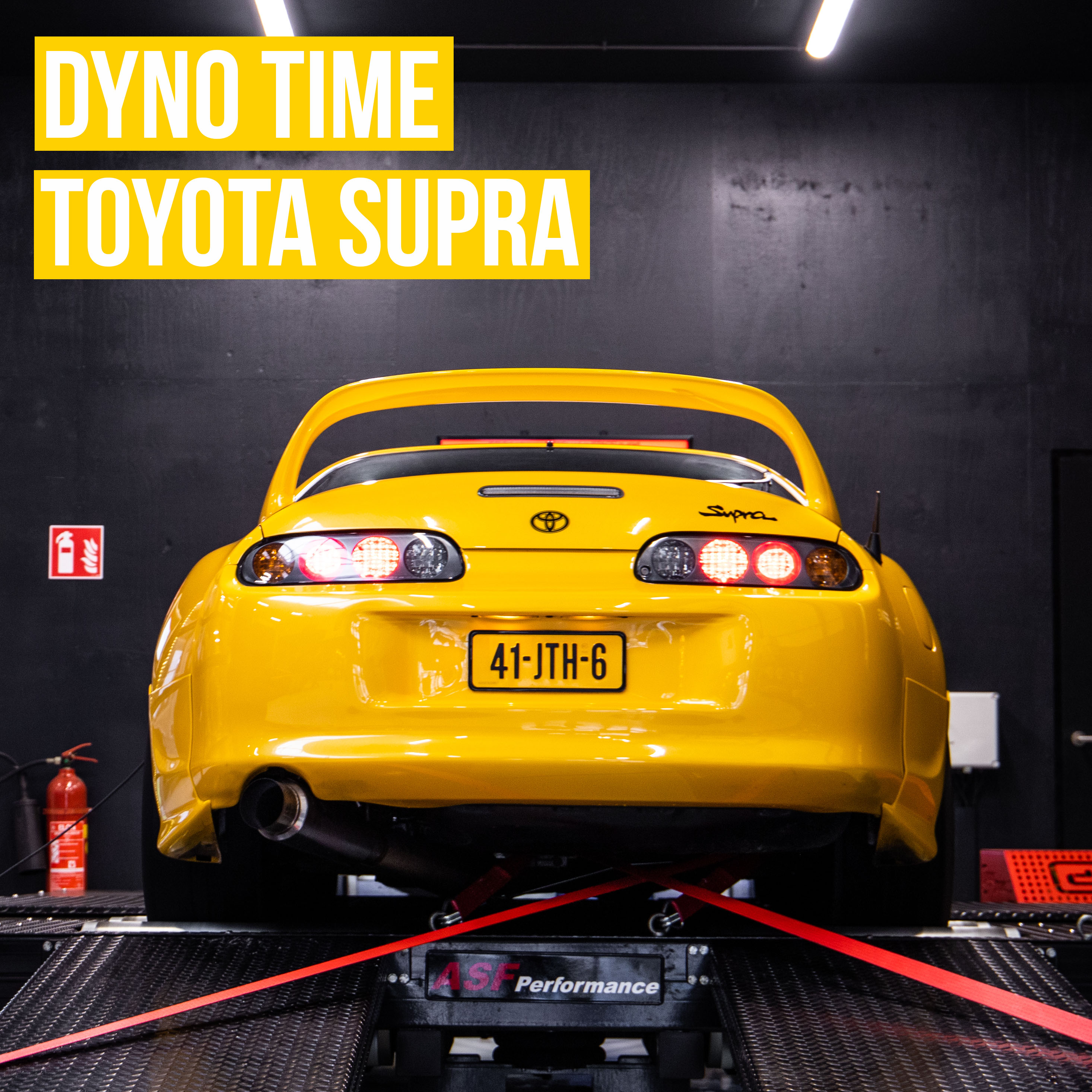 Dyno Time Toyota Supra