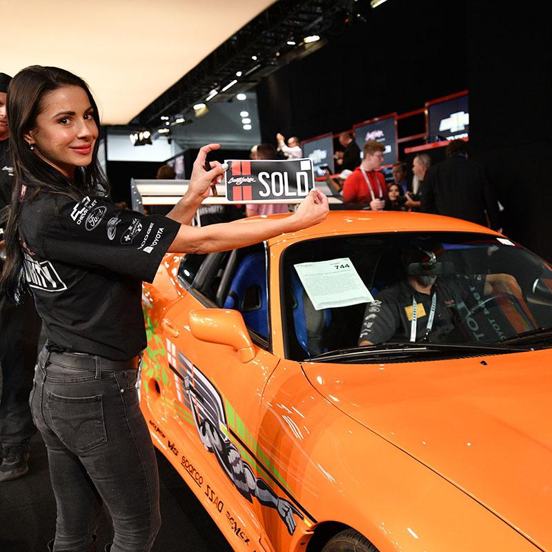 Supra verkocht voor $550.000!
