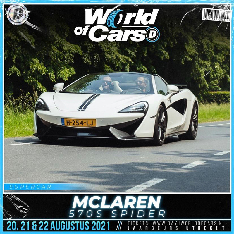 Frans Duits aanwezig op DAY1 World Of Cars!