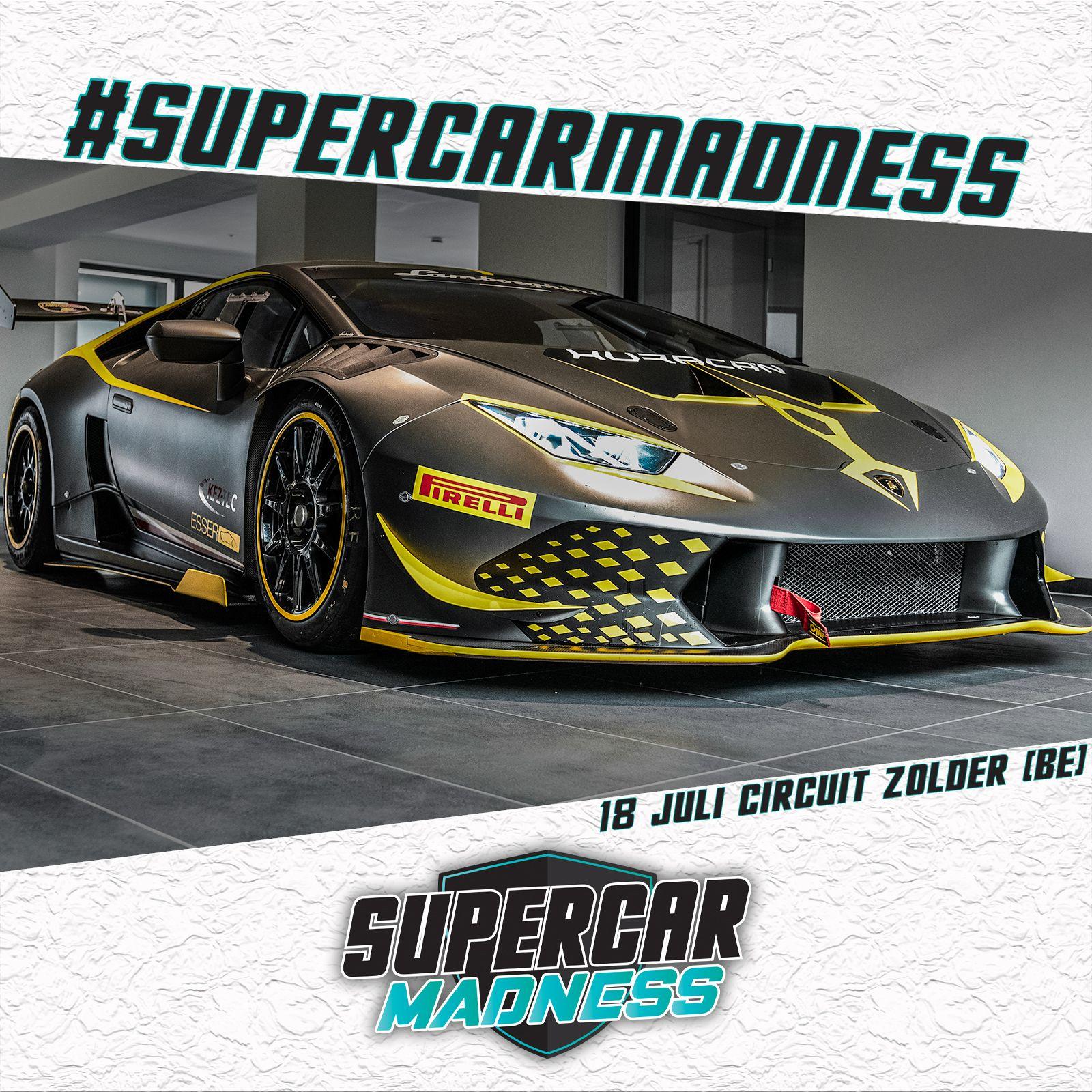 Aangemeld : Lamborghini Huracan Super Trofeo