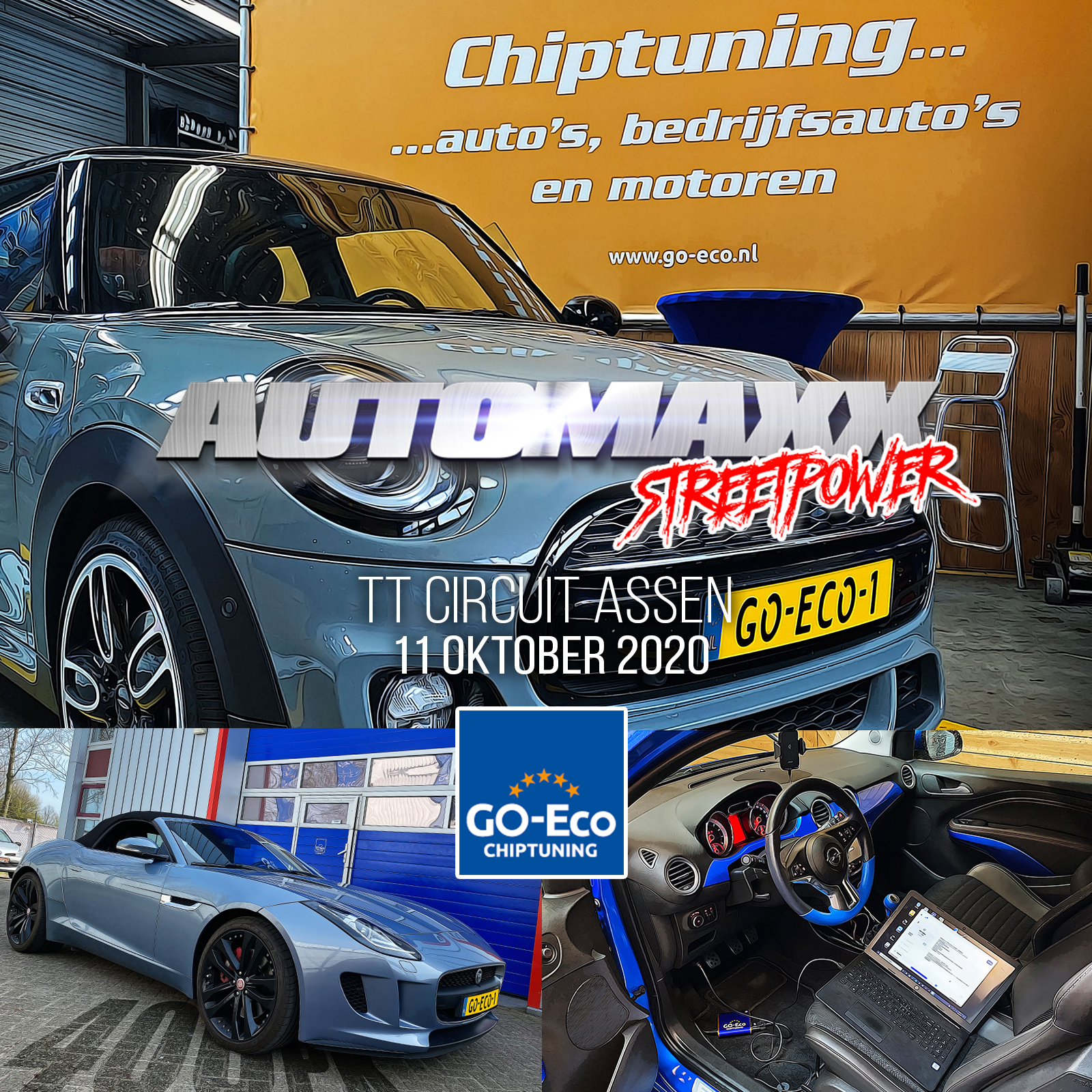AUTOMAXX STREETPOWER IS POWERED BY: GO-ECO CHIPTUNING