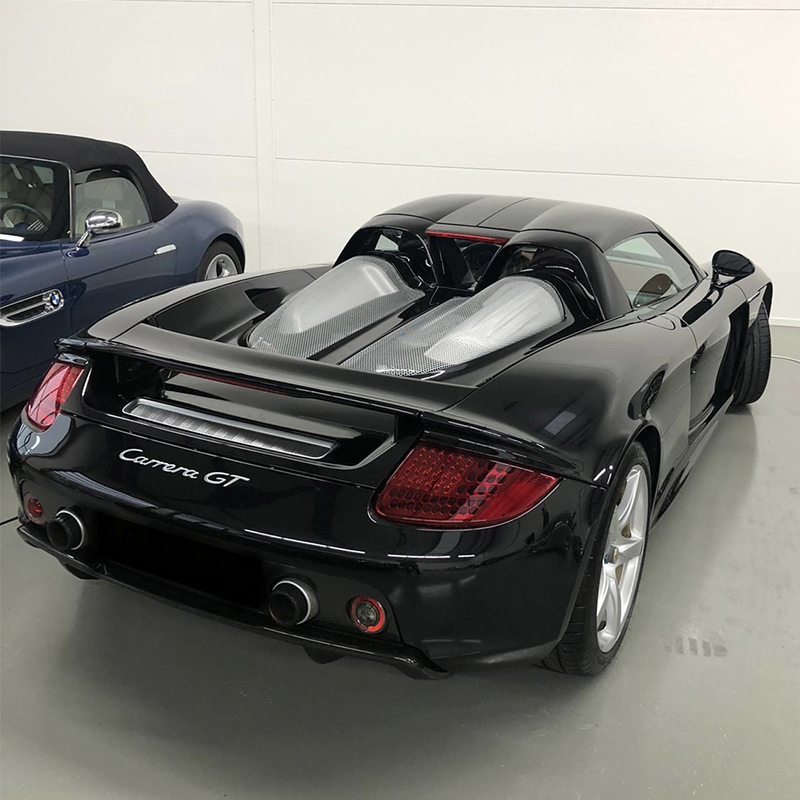 Showcar update: Porsche Carrera GT