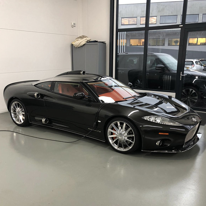 Showcar update: Spyker C8