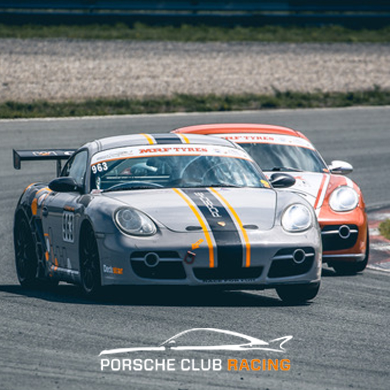 PORSCHE CLUB RACING IN ACTIE OP DEUTSCHE AUTOFEST