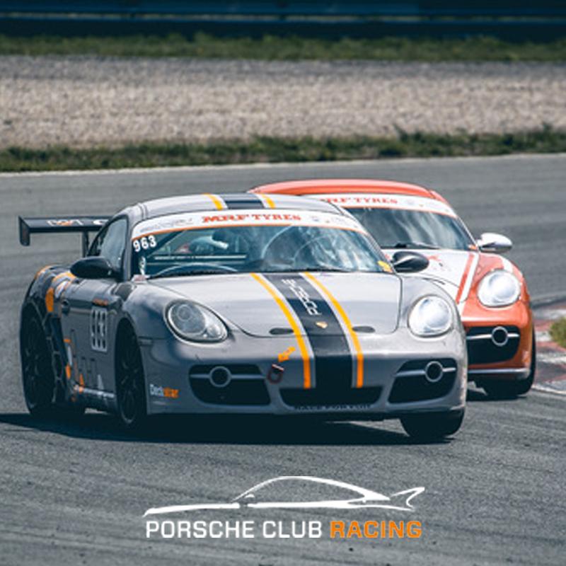 PORSCHE CLUB RACING IN ACTIE OP DEUTSCHE AUTOFEST