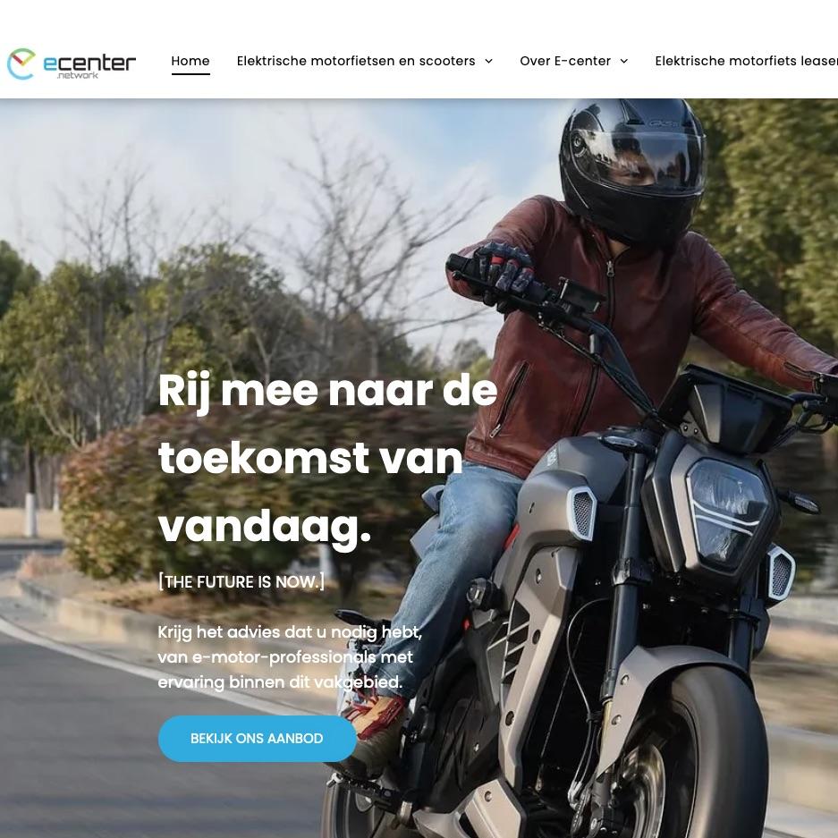 E-Center is gespecialiseerd in elektrische tweewielers
