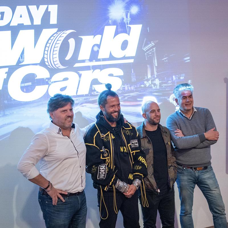 Kickoff DAY1 World of Cars