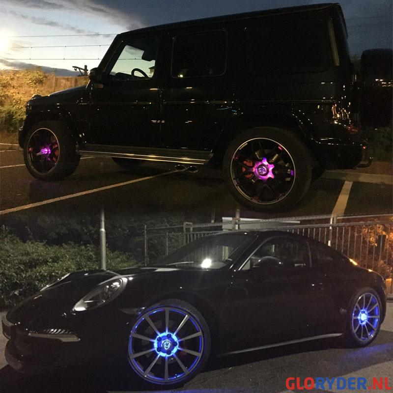 Exclusieve Glo Ryder Wheel Lights voor jouw auto!