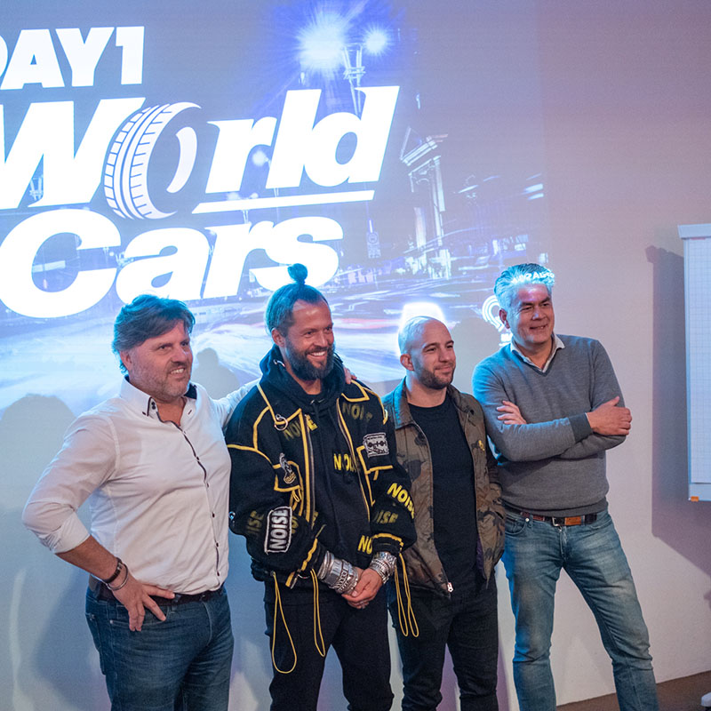 Kickoff DAY1 World of Cars